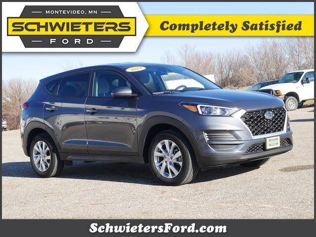 2019 Hyundai Tucson for sale at Schwieters Ford of Montevideo in Montevideo MN