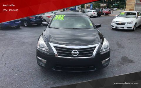 2013 Nissan Altima for sale at Autoville in Kannapolis NC