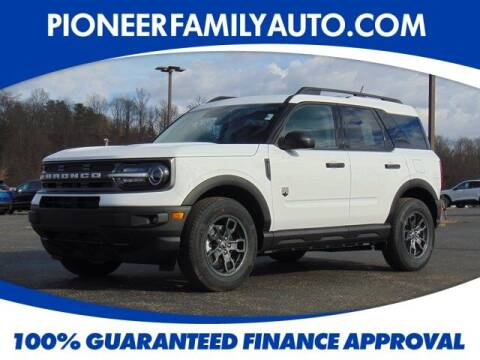 2021 Ford Bronco Sport for sale at Pioneer Family auto in Marietta OH