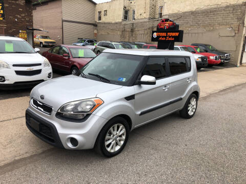 2012 Kia Soul for sale at STEEL TOWN PRE OWNED AUTO SALES in Weirton WV