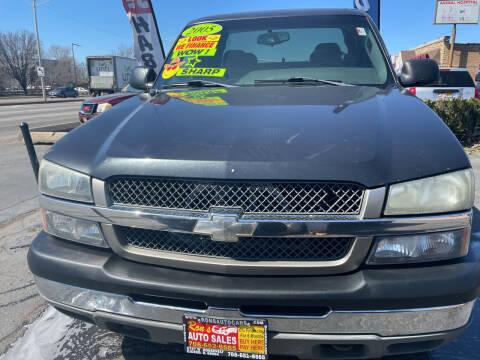 2005 Chevrolet Silverado 1500 for sale at RON'S AUTO SALES INC in Cicero IL