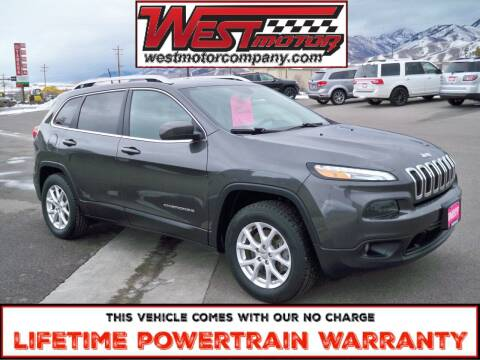 2016 Jeep Cherokee for sale at West Motor Company in Hyde Park UT