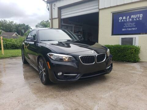 2014 BMW 2 Series for sale at O & J Auto Sales in Royal Palm Beach FL