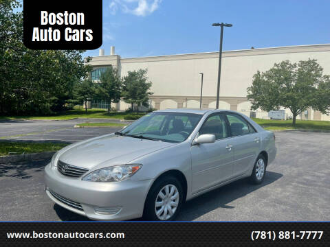 2005 Toyota Camry for sale at Boston Auto Cars in Dedham MA