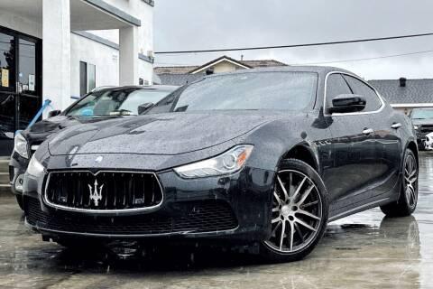2017 Maserati Ghibli for sale at Fastrack Auto Inc in Rosemead CA