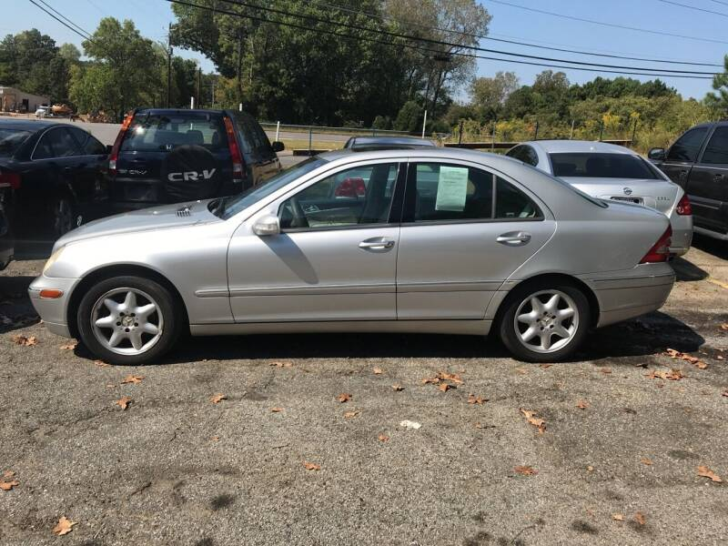 2004 Mercedes-Benz C-Class for sale at Moreland Motorsports in Conley GA