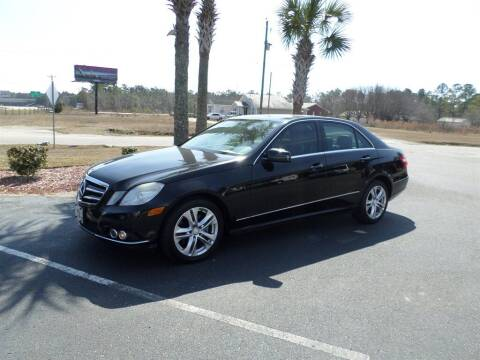 2010 Mercedes-Benz E-Class for sale at First Choice Auto Inc in Little River SC