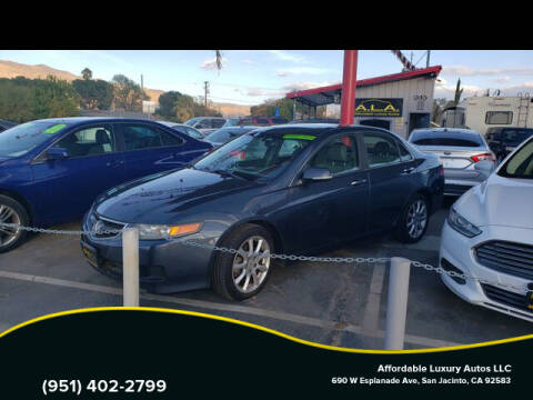 2006 Acura TSX for sale at Affordable Luxury Autos LLC in San Jacinto CA