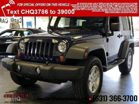 2013 Jeep Wrangler for sale at CERTIFIED HEADQUARTERS in Saint James NY