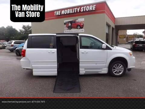 2015 Dodge Grand Caravan for sale at The Mobility Van Store in Lakeland FL