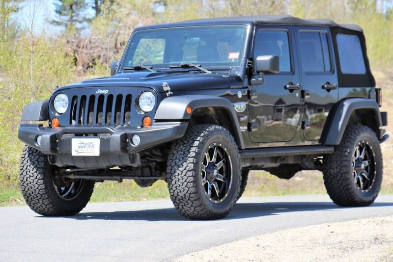 2012 Jeep Wrangler Unlimited for sale at Miers Motorsports in Hampstead NH