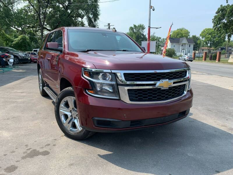 2015 Chevrolet Tahoe for sale at Morelia Auto Sales & Service in Maywood IL