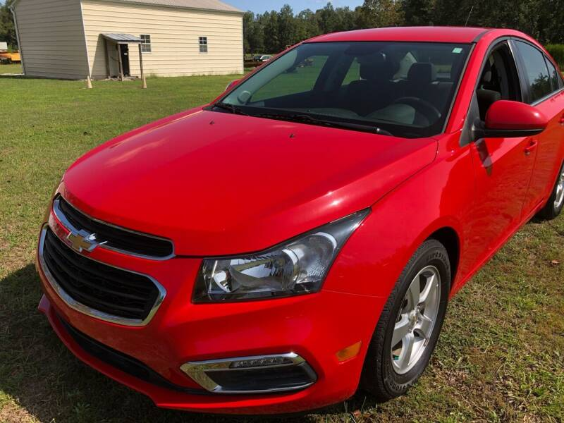 2016 Chevrolet Cruze Limited for sale at IH Auto Sales in Jacksonville NC