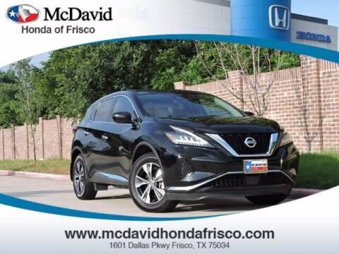 2020 Nissan Murano for sale at DAVID McDAVID HONDA OF IRVING in Irving TX