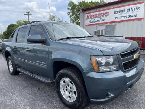 2012 Chevrolet Avalanche for sale at Keisers Automotive in Camp Hill PA