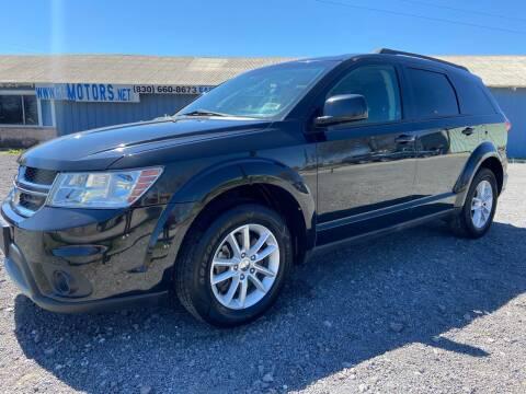 2013 Dodge Journey for sale at K & B Motors LLC in Mc Queeney TX