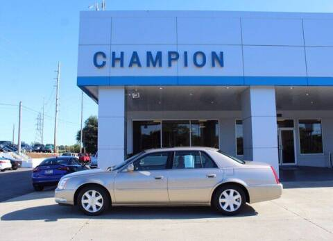 2006 Cadillac DTS for sale at Champion Chevrolet in Athens AL