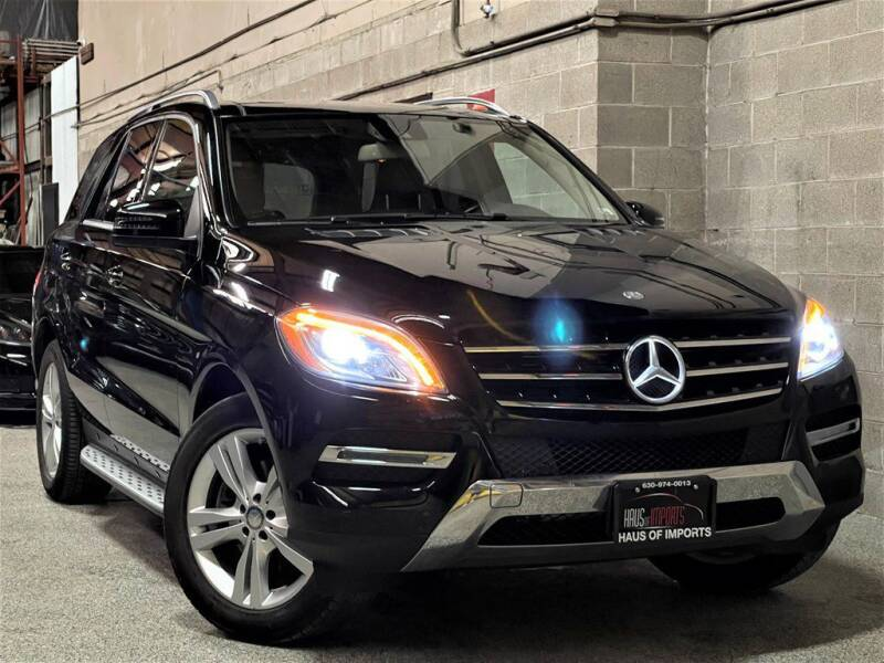 2014 Mercedes-Benz M-Class for sale at Haus of Imports in Lemont IL