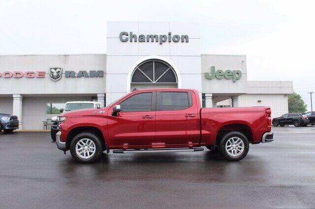 2019 Chevrolet Silverado 1500 for sale at Champion Chevrolet in Athens AL