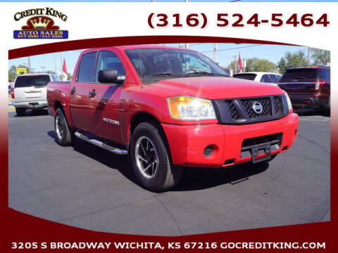 2011 Nissan Titan for sale at Credit King Auto Sales in Wichita KS