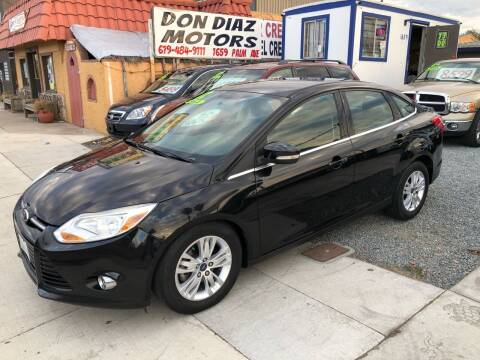 2012 Ford Focus for sale at DON DIAZ MOTORS in San Diego CA