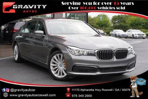 2019 BMW 7 Series for sale at Gravity Autos Roswell in Roswell GA