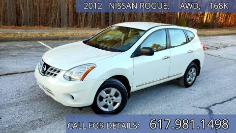 2012 Nissan Rogue for sale at Wheeler Dealer Inc. in Acton MA