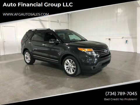 2015 Ford Explorer for sale at Auto Financial Group LLC in Flat Rock MI