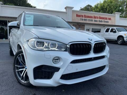 2016 BMW X5 M for sale at North Georgia Auto Brokers in Snellville GA