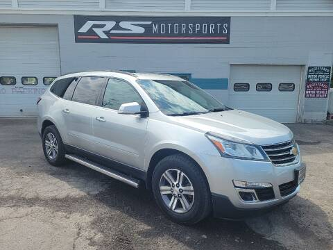 2017 Chevrolet Traverse for sale at RS Motorsports, Inc. in Canandaigua NY