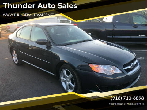 2009 Subaru Legacy for sale at Thunder Auto Sales in Sacramento CA