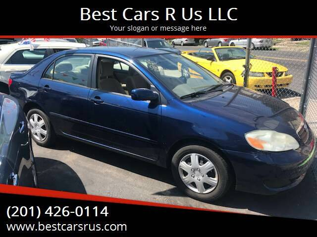 2007 Toyota Corolla for sale at Best Cars R Us LLC in Irvington NJ