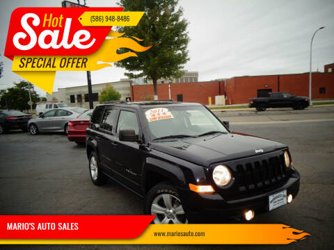 2011 Jeep Patriot for sale at MARIO'S AUTO SALES in Mount Clemens MI