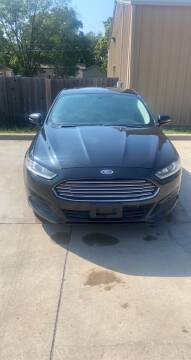 2015 Ford Fusion for sale at Unique Motors in Wichita KS