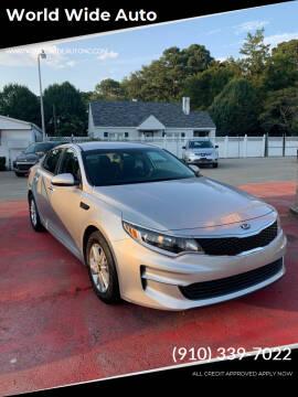 2018 Kia Optima for sale at World Wide Auto in Fayetteville NC