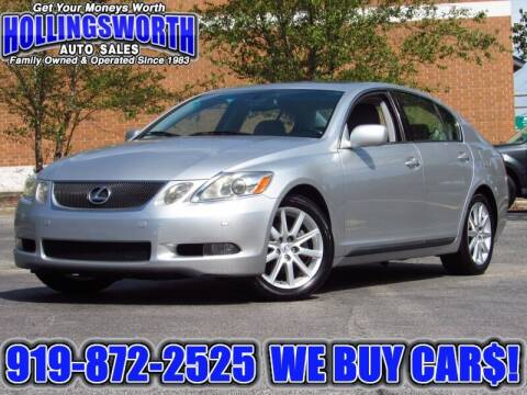 2006 Lexus GS 300 for sale at Hollingsworth Auto Sales in Raleigh NC
