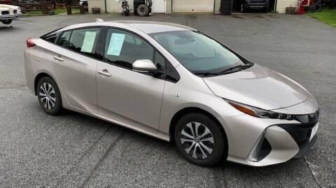 2020 Toyota Prius Prime for sale at Past & Present MotorCar in Waterbury Center VT