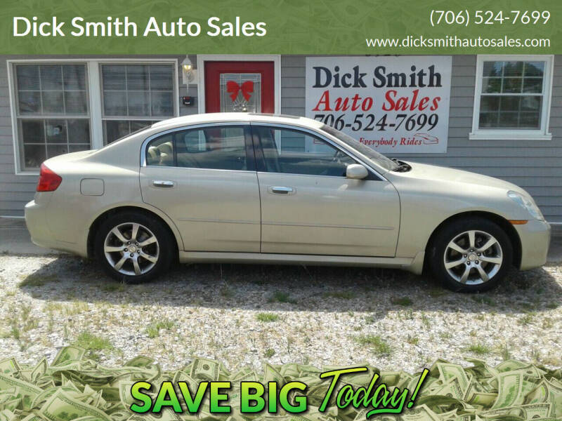2006 Infiniti G35 for sale at Dick Smith Auto Sales in Augusta GA