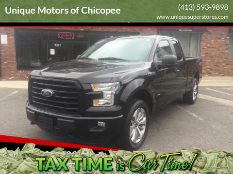 2017 Ford F-150 for sale at Unique Motors of Chicopee in Chicopee MA