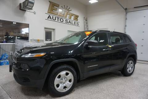 2018 Jeep Cherokee for sale at Elite Auto Sales in Idaho Falls ID
