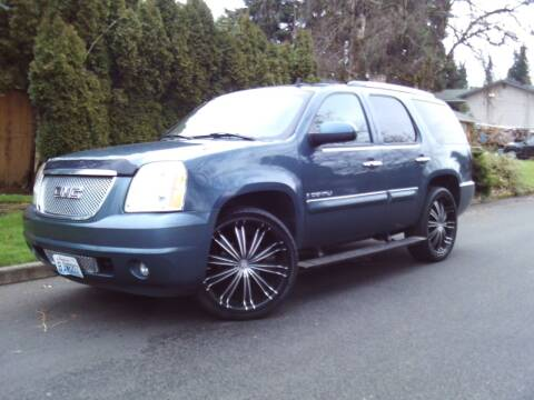 2007 GMC Yukon for sale at Redline Auto Sales in Vancouver WA