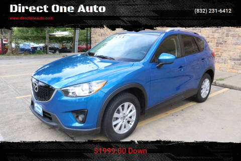 2013 Mazda CX-5 for sale at Direct One Auto in Houston TX