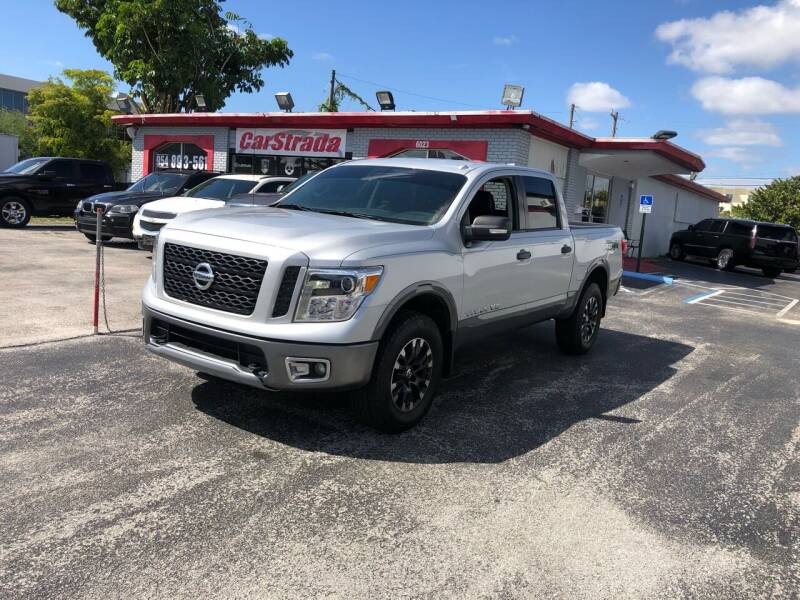 2018 Nissan Titan for sale at CARSTRADA in Hollywood FL