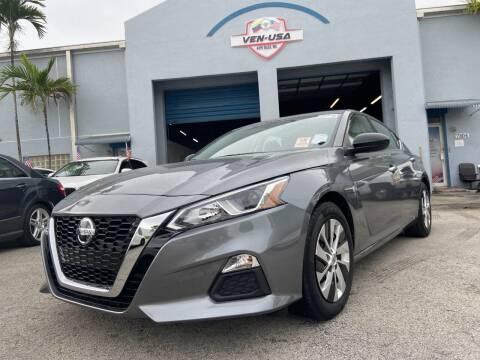 2020 Nissan Altima for sale at Ven-Usa Autosales Inc in Miami FL