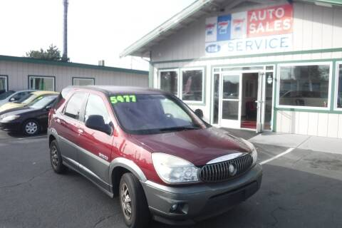 2002 Buick Rendezvous for sale at 777 Auto Sales and Service in Tacoma WA