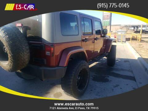 2007 Jeep Wrangler Unlimited for sale at Escar Auto in El Paso TX