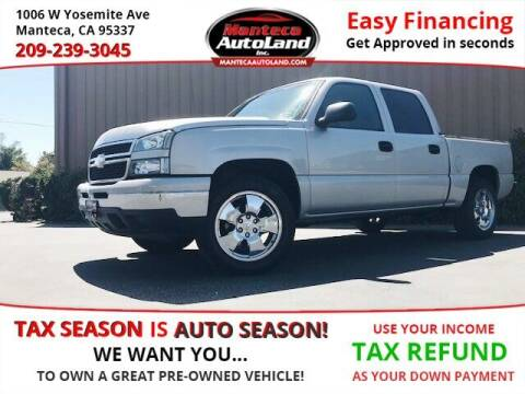 2007 Chevrolet Silverado 1500 Classic for sale at Manteca Auto Land in Manteca CA