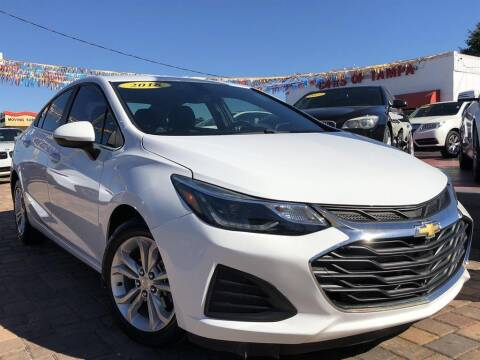2019 Chevrolet Cruze for sale at Cars of Tampa in Tampa FL