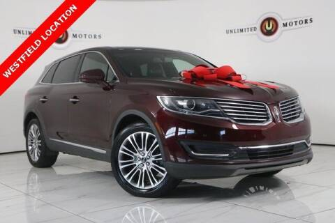 2018 Lincoln MKX for sale at INDY'S UNLIMITED MOTORS - UNLIMITED MOTORS in Westfield IN