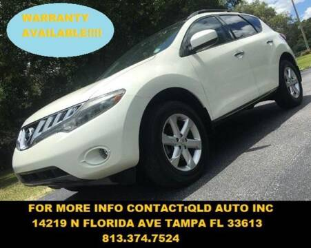 2009 Nissan Murano for sale at QLD AUTO INC in Tampa FL